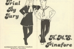 1985 Trial By Jury & HMS Pinafore